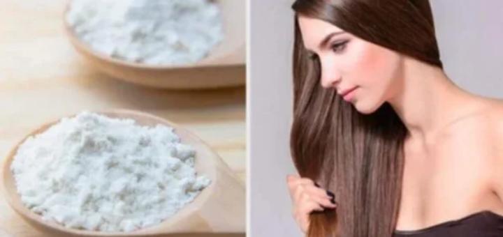 волосы и сода